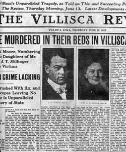 Haunted Houses - Villisca Axe Murder Headlines