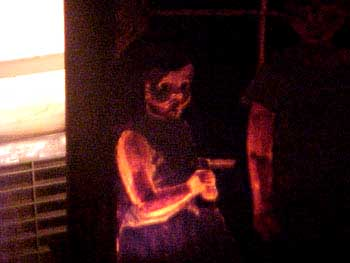 The Haunted Painting after the boy left