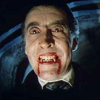 "Count Dracula ""Christopher Lee"""